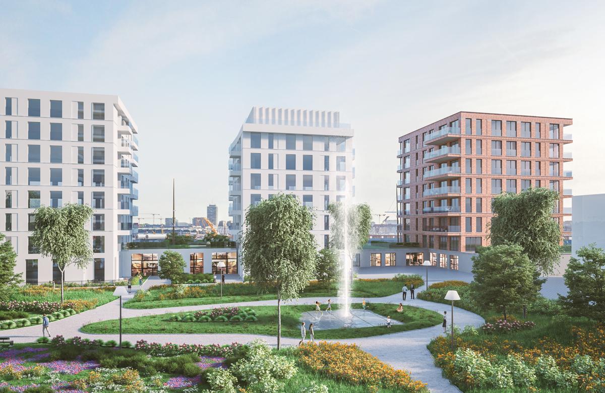 Nieuwbouw appartementen Oostende Baelskaai met centralpark@sea